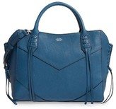 Vince Camuto Fargo Leather Satchel - Blue
