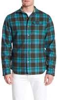Descendant Of Thieves Blue Moss Plaid Shirt Jacket