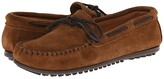 Minnetonka Classic Moc (Dusty Brown Suede) Men's Moccasin Shoes