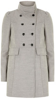 Dorothy Perkins Grey double breasted coat