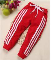 Topshop Top Shop US Boys/Girls Kids Striped Drawstring Casual Leggings Pants Trousers