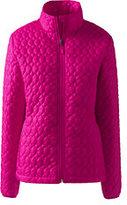 Lands' End Women's Petite Packable Primaloft Jacket-Soft Magenta