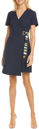 Ted Baker Florry V-Neck Wrap Front Jersey Dress