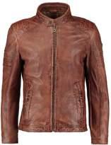 Gipsy Cave Lalyv Leather Jacket Dark Cognac