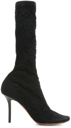 Vetements Lace Sock Boots