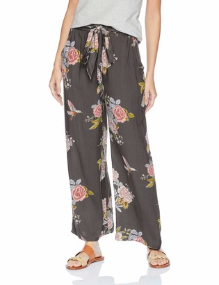 Angie Women's Wide Leg Pant with Self Tie