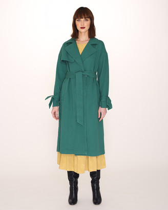 PepaLoves Coat Cotton Trench - Coat COTTON TRENCH - XS, Mostaza