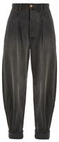 Isabel Marant Netery oversized wide-leg cotton jeans