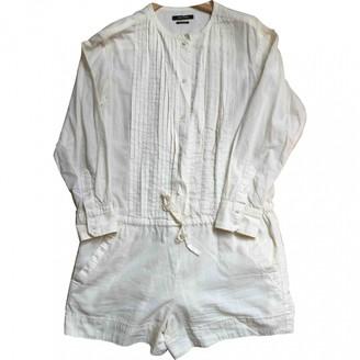 Isabel Marant Ecru Cotton Shorts for Women