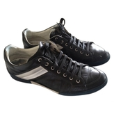 Christian Dior Blue Leather Trainers