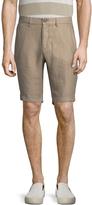 Jachs Men's Solid Dress Shorts