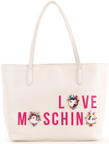 Love Moschino Cartoon print shopper bag - women - Polyurethane - One Size