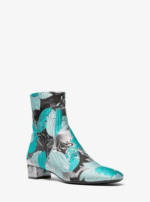 Michael Kors Quinn Floral Brocade Ankle Boot