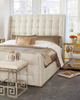 Bernhardt Continental Tufted Queen Bed