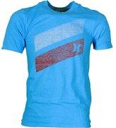 Hurley T-Shirt ~ Slash Push Through blue