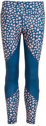 Perky Peach Leopard Leggings