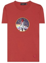 Coach Spaceship appliqué cotton T-shirt