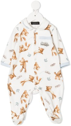 MonnaLisa Teddy one pocket pajama