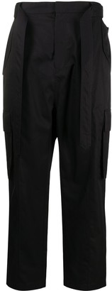 Juun.J Belted Waist Side Pocket Trousers