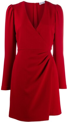 RED Valentino Wrap-Style Dress