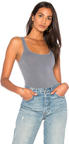 James Perse Classic Brushed Long Tank in Slate. - size 0 (XXS/XS) (also in )