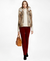 Brooks Brothers Coyote Fur Vest