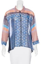 Clover Canyon Long Sleeve Button-Up Blouse