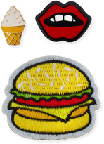 Lydell NYC Food Pin Set, Multi