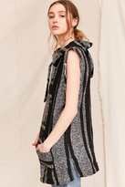 Urban Renewal Recycled Woven Sleeveless Hooded Top