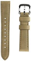 Shinola Interchangeable Olive Green Outrigger Leather Watch Strap, 18mm