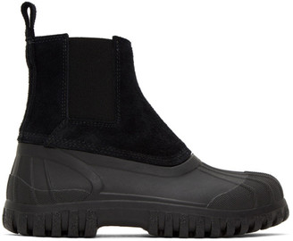 Diemme Black Suede Balbi Boots