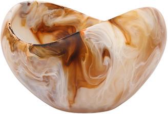 Dinosaur Designs Medium Beetle Bowl in Light Horn Swirl   FWRD