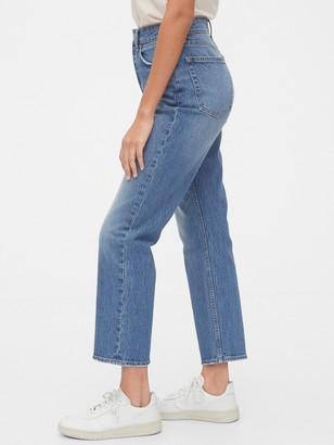 Gap High Rise Curvy Cheeky Straight Jeans