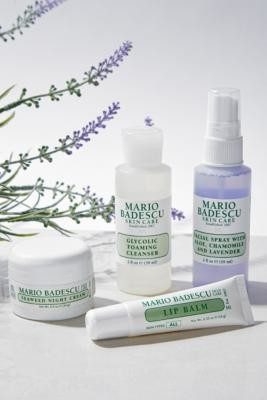 Mario Badescu Mini Must-Haves Set - PM Edition - Purple ALL at Urban Outfitters