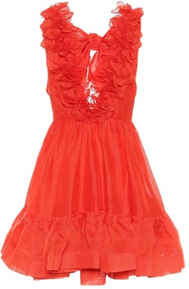 Zimmermann Lovestruck broderie-anglaise minidress