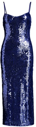Galvan Mirrored Bustier Dress
