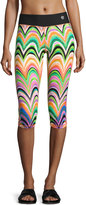 Trina Turk Recreation New Wave Printed Leggings, Multi