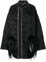 Liska - fur quilted jacket