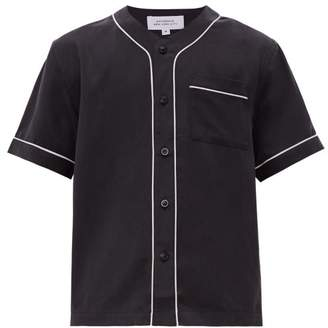 Saturdays NYC Benny Short Sleeved Shirt - Mens - Black