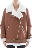 Acne Studios Brown Leather Jacket