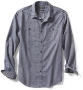 Banana Republic Grant-Fit Luxe Flannel Solid Shirt
