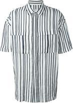 E. Tautz 'Derek' shirt - men - Linen/Flax - XS