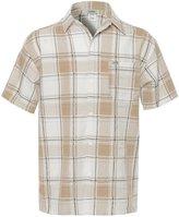 Youstar Short Sleeve Plaid Button Up Shirt Black White Size 4XL