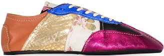 Marni Patchwork Low-Top Sneakers