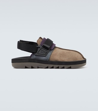 Reebok Beatnik suede sandals