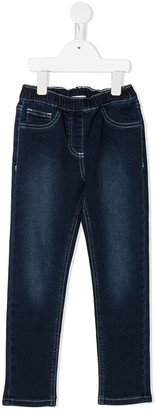 MonnaLisa Elasticated Straight-Leg Jeans