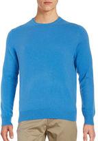 Black Brown 1826 Cashmere Crewneck Sweater