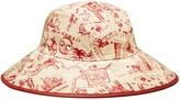 Tory Burch PRINTED RAIN BUCKET HAT