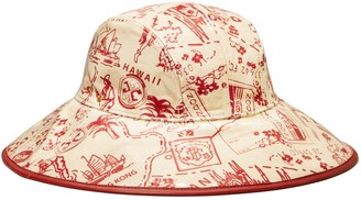 Tory Burch Printed Rain Bucket Hat