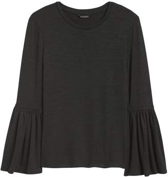 Banana Republic Luxespun Bell-Sleeve T-Shirt